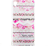 Pink Folk Style Pattern PC Hard Back Cover Case for  Sony Xperia Z3