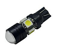 Luci da arredo 5 SMD 5050 T10 3 W 250-280lm LM Luce fredda DC 12 V
