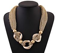 Europe and America Fashion Gauze Alloy Necklace