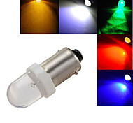 5 pcs ding yao BA9S 1.5W 1X 100-120LM K Cool White/Red/Blue/Yellow/Green Decorative Decoration Light DC 12V