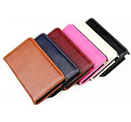 PU Leather Oil and Wax Stents Can Insert Card Design for Samsung Note 4 (Assorted Colors)