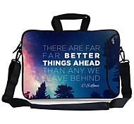 "Elonbo Night's Whisper Carrying Handle & Removable Shoulder Strap Laptop Bag for 13"" Macboob pro HP"