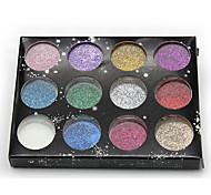 12 Colors  Glitter Powder Decorations Nail Art Kits(Random Color)
