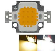 10W 900LM White/Warm White 3000K/6000K High Bright LED Light Lamp Chip DC 9-12V 5PCS