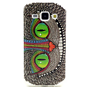 Cat Eyes Pattern TPU Soft Case for Samsung Galaxy J1