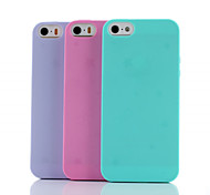 First Love Under the Stars TPU Soft Cover for iPhone 5/5S(Assorted Colors)