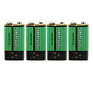 9V Alkaline Battery (4PCS)