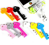 Multifunction Candy-colored Key Shape Bobbin Winders and Phone holder(Random Color)