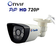 YanSe® IP Camera 720P Securiy HD Network CCTV Camera Mega Pixel 1.0MP Outdoor Waterproof Network CCTV System ,ONVIF