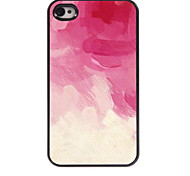 Painting design Aluminum Hard Case for iPhone 4/4S