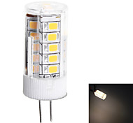 G4 3W 200lm 3000K 33-SMD 2835 LED Warm White Light LED Minitype Candle Lamp (AC12V)