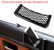 The Third-generation Enhanced Version of GM Car Models Car Storage Net Bag with A Cell Phone Pouch