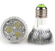 9W E26/E27 LED Par Lights PAR20 3 High Power LED 480-640 lm Warm White / Cool White AC 100-240 V 1 pcs