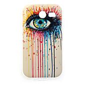 full Augen Malerei tpu Fall für Samsung-Galaxie-Tasche 2 G110