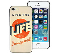 Life to Live Design PC Hard Case for iPhone I4
