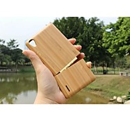 2015 Hot Sale Geniune Pure Bamboo Wood Back Cover Protective Cases For Mobile Phone Huawei P7