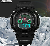 SKMEI® Kids' Sporty Wristwatch Japanese Quartz Digital LCD Screen Rubber Band