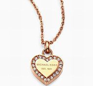 Romantic Heart-shaped Pendant Necklace