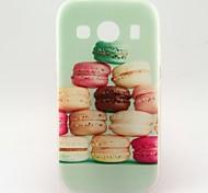 kleurrijke hamburg patroon TPU zachte hoes voor Samsung Galaxy Ace stijl lte g357 / ace 4 g357fz
