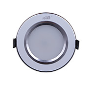 7W 630LM 3000-7000K Warm/Cool White Light LED Silvery White Receseed Lights (220-240V)