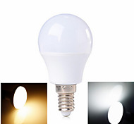 3W E14 LED Kugelbirnen 6 SMD 2835 100-200 lm Warmes Weiß / Kühles Weiß AC 220-240 V 1 Stück