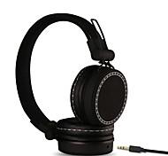 Fones Com Fios - com DJ/Controle de Volume/Radio FM/Esportes/Redução de Ruídos/Hi-Fi/Monitoramento - paraLeitor de
