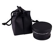 58mm 2x Telephoto Zoom Lens for Canon Nikon Sony Olympus Camera DSLR