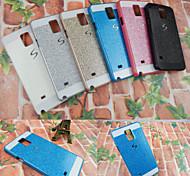 hoge kwaliteit schitterde afwerking acryl met s-type afdrukken Cover Case voor Samsung Galaxy Note 4 (verschillende kleuren)