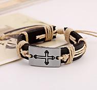 Leather Bracelet Leather Bracelets Party/Daily/Casual 1pc