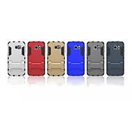 pc tpu in Stent zwei-in-One zurück schützende Hülle für Samsung-Galaxie s6 Rand abzudecken (verschiedene Farben)