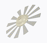 Luces de Techo Decorativa 8A Lighting 24 W 150 SMD 2835 3000 LM Blanco Cálido/Blanco Fresco AC 100-240 V 1 pieza