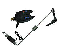 alarma mordedura de pesca inalámbrico tackle indicador de mordida + libertino pesca rojo