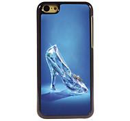 Glass Slippers Design Aluminum Hard Case for iPhone 5C