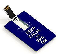 16G Keep Calm and Sail On Design Card USB Flash Drive