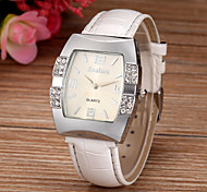 Women's Fashion Diamond Square Dial Quartz Wrist Watch(Assorted Colors)