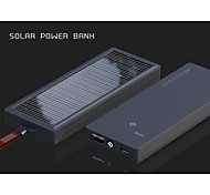 ACMESHINE 2000mAh Solar Power Bank for iPhone/Samsung Note4/Sony/HTC and other Mobile Devices