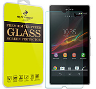 Mr.northjoe® Tempered Glass Film Screen Protector for Sony Xperia Z / L36h