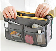 Double Zipper Polyester Multi-Function Storage Bag(Assorted Color)