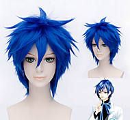 VOCALOID KAITO Short Blue Cosplay Hair Wig