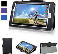 Pelle slimbook foglio della copertura di caso del basamento con chiusura magnetica per Acer Iconia tab 8 a1-840fhd
