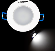 resch 3w dayton 6400K 315lm llevó la lámpara del techo blanco / abajo de la luz (CA 85 ~ 265v)