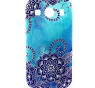 blauwe ochtend glorie patroon TPU zachte hoes voor Samsung Galaxy Ace stijl lte g357 / ace 4 g357fz