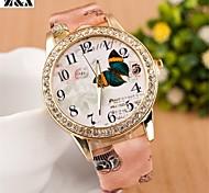 relógio bohemia diamante torre quartzo colar analógica das mulheres (cores sortidas)