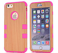 Wood PC Back Cover for iPhone 6 Plus (Assorted Colors)
