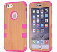 Holz PC Schutzhülle für iPhone 6 plus (verschiedene Farben)