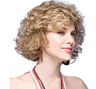 European and American  Fashion Short Blonde Hair Wig