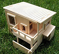 The Wood DIY House Hold Building Model