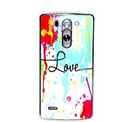 Colorful Paint Love Pattern 0.6mm Ultra-Thin Case for LG G3 Beat/G3 Mini D728/D729/D722
