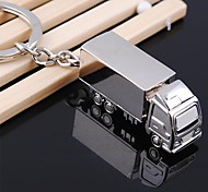 Practical Smooth Zinc Alloy Mini Small Truck Keychain