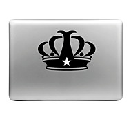 Hat-Prince Crown Designed Removable Decorative Skin Sticker for MacBook Air / Pro / Pro with Retina Display